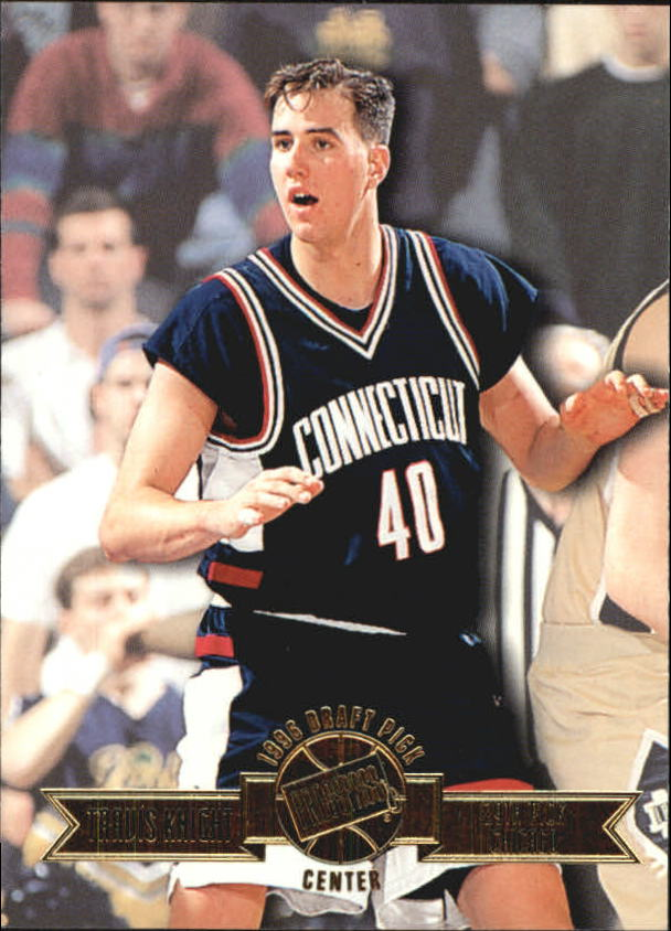 1996 Press Pass #23 Travis Knight