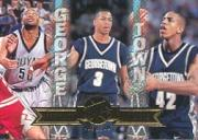 1996 Press Pass #41 Jerome Williams/Allen Iverson/Othella Harrington