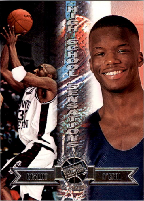 1996 Press Pass #44 Kobe Bryant/Jermaine O'Neal