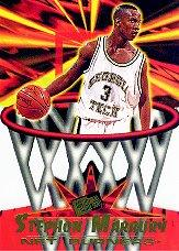 1996 Press Pass Net Burners #4 Stephon Marbury