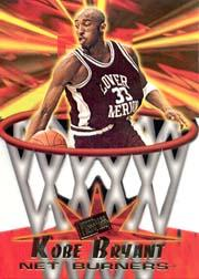 1996 Press Pass Net Burners #13 Kobe Bryant