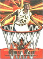1996 Press Pass Net Burners #30 Malik Rose
