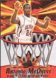 1996 Press Pass Net Burners #38 Antonio McDyess