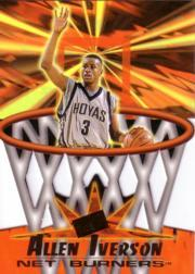 1996 Press Pass Net Burners #41 Allen Iverson