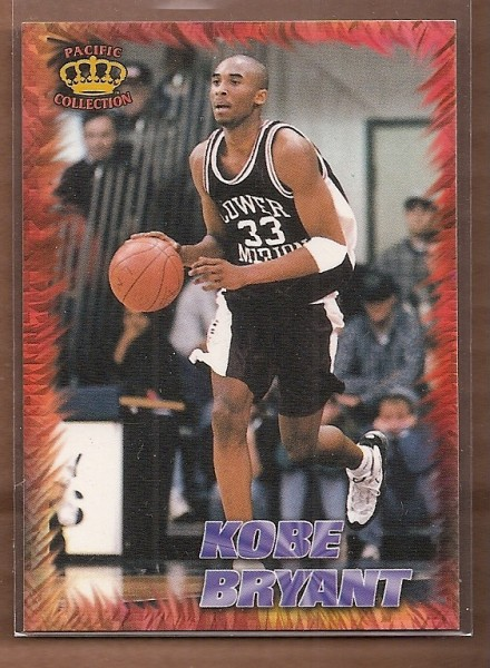 1996 Pacific Power Regents of Roundball #RR6 Kobe Bryant