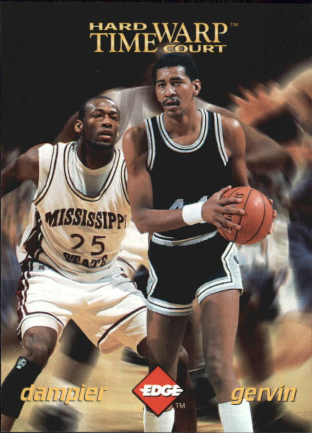 1996 Collector's Edge Time Warp #5 Erick Dampier/George Gervin