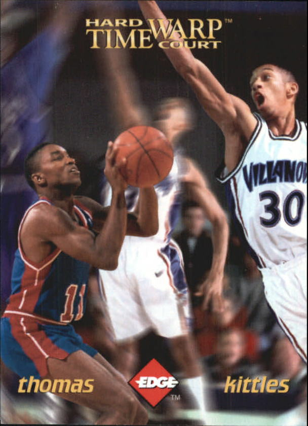 1996 Collector's Edge Time Warp #7 Kerry Kittles/Isiah Thomas
