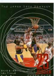 1996 Upper Deck 23 Nights Jordan Experience #4 Michael Jordan/(Game 2, 1991 NBA Finals)