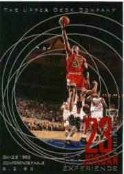 1996 Upper Deck 23 Nights Jordan Experience #6 Michael Jordan/(Game 5, 1993 Conference Finals)