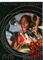 1996 Upper Deck 23 Nights Jordan Experience #8 Michael Jordan/(1991 NBA Champions)