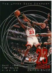 1996 Upper Deck 23 Nights Jordan Experience #11 Michael Jordan/(Game 1, 1996 First Round)