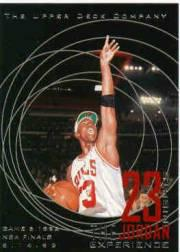 1996 Upper Deck 23 Nights Jordan Experience #14 Michael Jordan/(Game 6, 1992 NBA Finals)