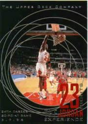 1996 Upper Deck 23 Nights Jordan Experience #16 Michael Jordan/(34th career 50-point game)