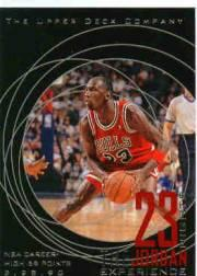 1996 Upper Deck 23 Nights Jordan Experience #18 Michael Jordan/(NBA career-high 69 points)