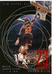 1996 Upper Deck 23 Nights Jordan Experience #20 Michael Jordan/(23,000 career points)