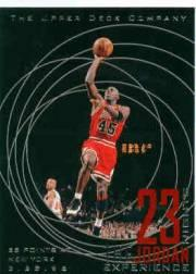 1996 Upper Deck 23 Nights Jordan Experience #21 Michael Jordan/(55 points at New York)