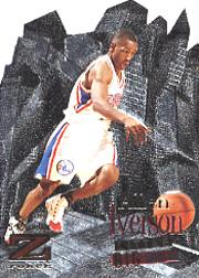 1996-97 Z-Force Little Big Men #5 Allen Iverson