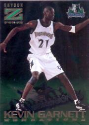 1996-97 Z-Force Zensations #7 Kevin Garnett