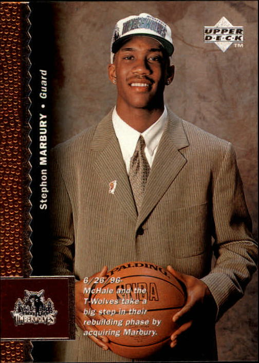 1996-97 Upper Deck #74 Stephon Marbury RC