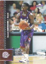 1996-97 Upper Deck #302 Donald Whiteside RC