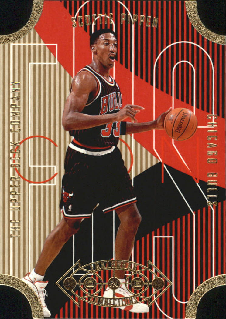 1996-97 Upper Deck Fast Break Connections #FB22 Scottie Pippen