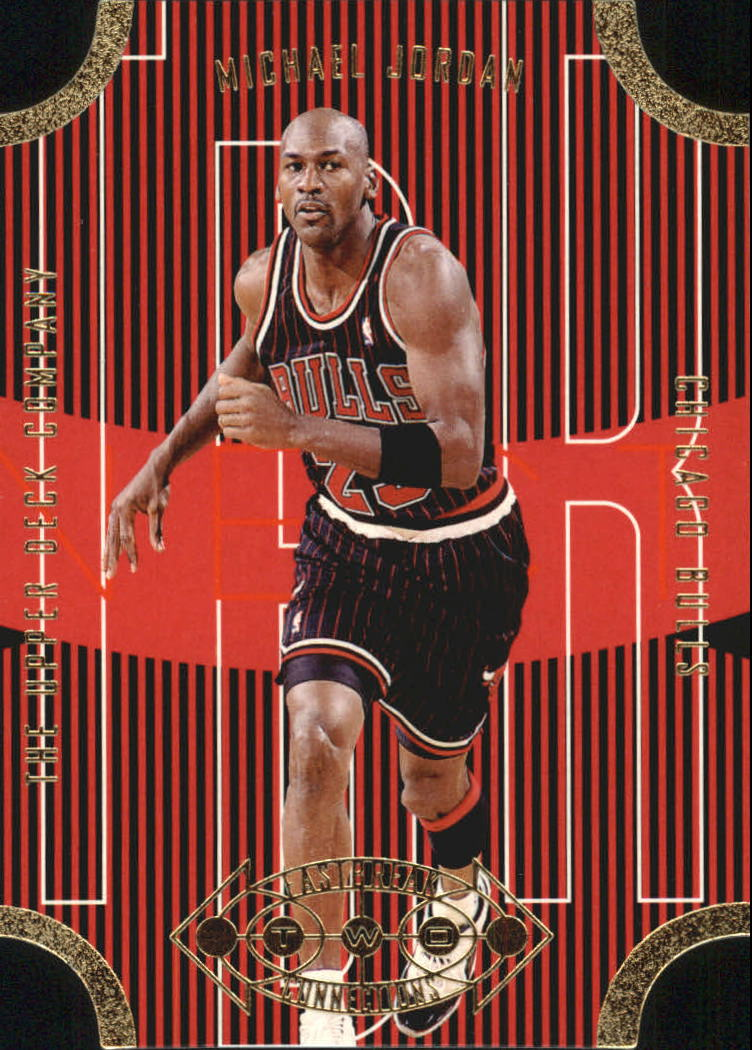 1996-97 Upper Deck Fast Break Connections #FB23 Michael Jordan