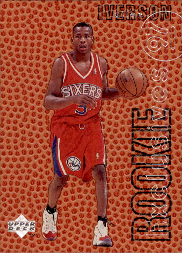 1996-97 Upper Deck Rookie Exclusives #R1 Allen Iverson