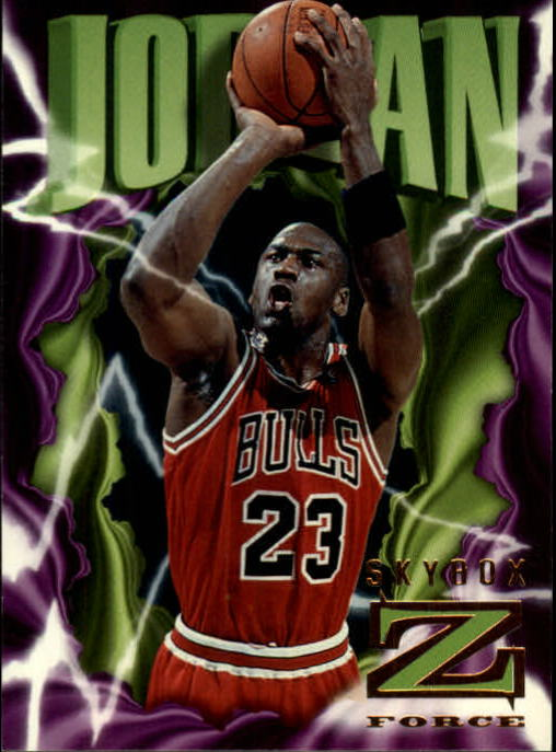 1996-97 Z-Force #11 Michael Jordan