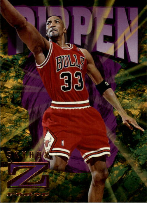 1996-97 Z-Force #13 Scottie Pippen