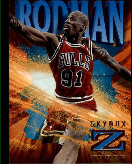 1996-97 Z-Force #14 Dennis Rodman