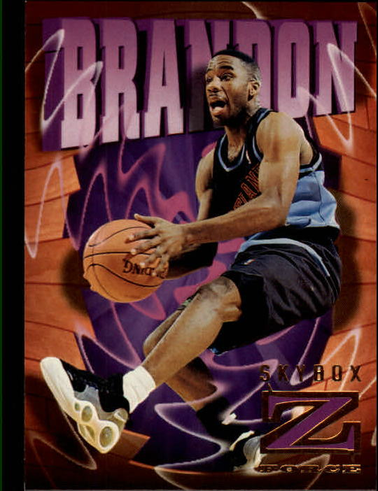 1996-97 Z-Force #15 Terrell Brandon