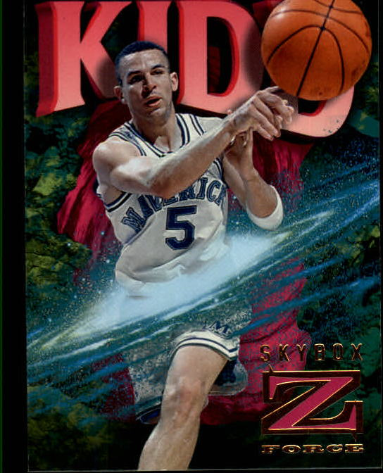 1996-97 Z-Force #19 Jason Kidd