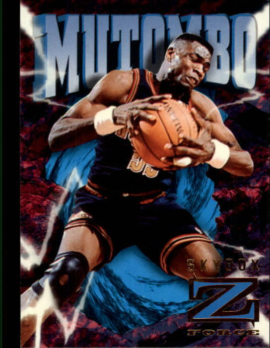 1996-97 Z-Force #24 Dikembe Mutombo