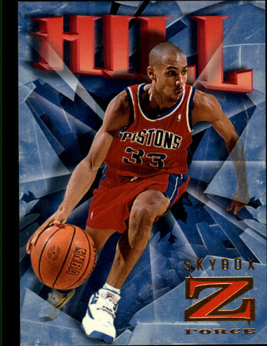 1996-97 Z-Force #26 Grant Hill