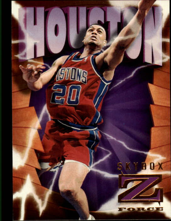 1996-97 Z-Force #27 Allan Houston