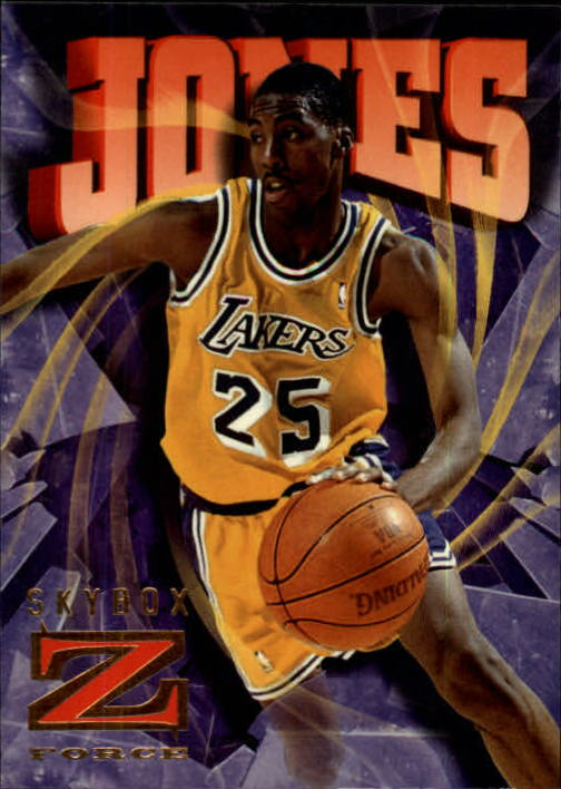 1996-97 Z-Force #44 Eddie Jones