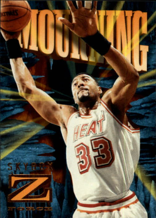 1996-97 Z-Force #47 Alonzo Mourning