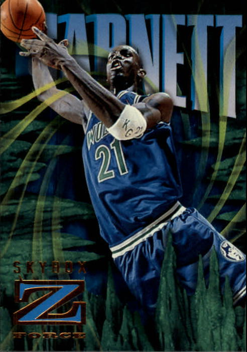 1996-97 Z-Force #52 Kevin Garnett