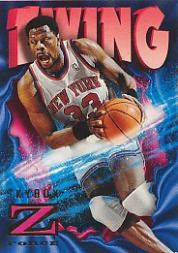 1996-97 Z-Force #58 Patrick Ewing