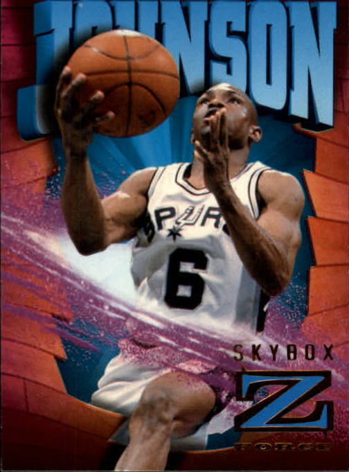 1996-97 Z-Force #80 Avery Johnson