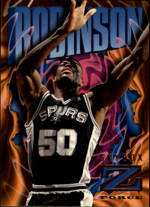 1996-97 Z-Force #81 David Robinson