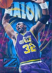 1996-97 Z-Force #90 Karl Malone