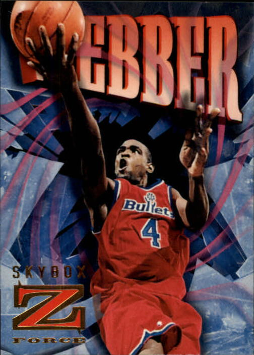 1996-97 Z-Force #98 Chris Webber
