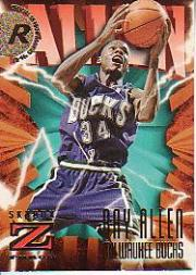 1996-97 Z-Force #140 Ray Allen RC