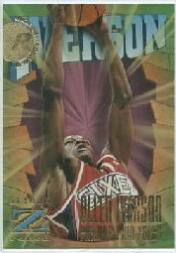 1996-97 Z-Force #151 Allen Iverson RC