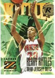 1996-97 Z-Force #153 Kerry Kittles RC