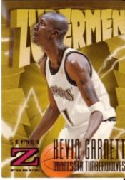 1996-97 Z-Force #173 Kevin Garnett ZUP