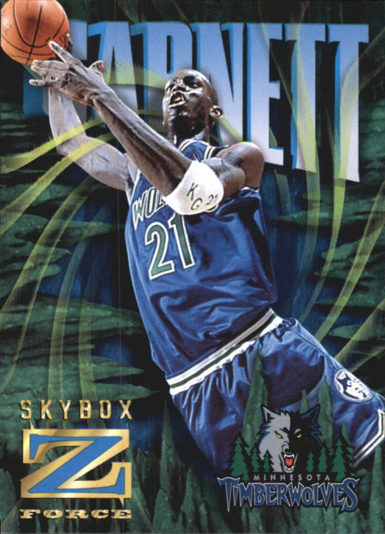 1996-97 Z-Force Z-Cling #52 Kevin Garnett