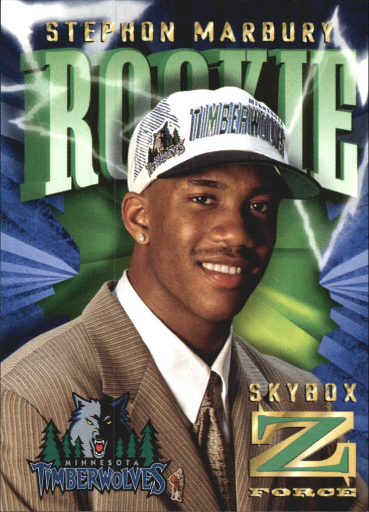 1996-97 Z-Force Z-Cling #R2 Stephon Marbury