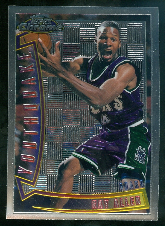 1996-97 Topps Chrome Youthquake #YQ9 Ray Allen